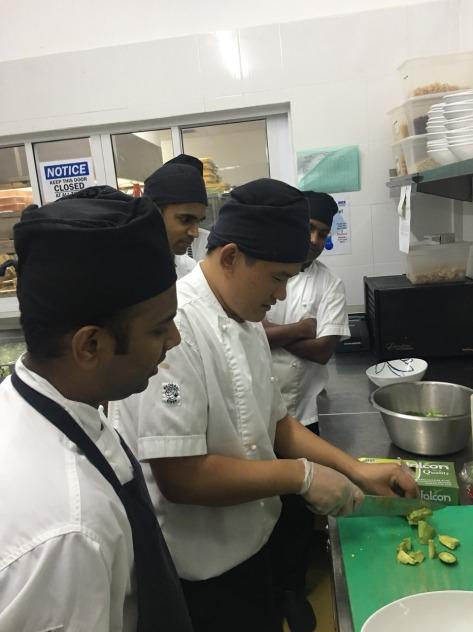 How to make Mesclun Salad by Chef Chouki Dhan Rai