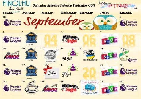 Finolhu Calendar Sep-18