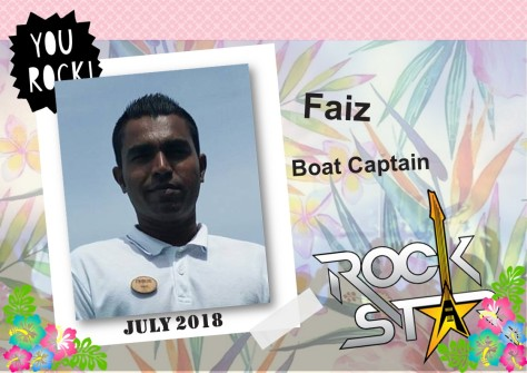 ROCKSTAR OF THE MONTH - JULY 2018